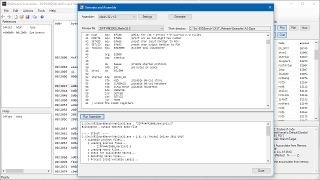 Gen/Asm Dialog Screenshot